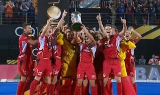 बेल्जियम- FIH  नंबर वन पुरुष टीम