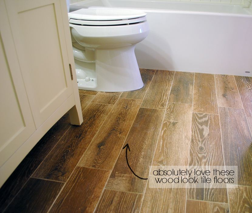 Installing Hardwood Flooring In Bathroom: Fabulously Vintage: DIY Master Bathroom Remodel -- Update