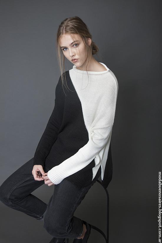 Sweaters invierno 2016 ropa de mujer. Moda invierno 2016.