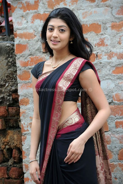 Pranitha hot stills in saree