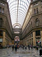 Italia. Italy. Italie. Campania. Nápoles. Napoli. Napule. Naples. Galleria Umberto