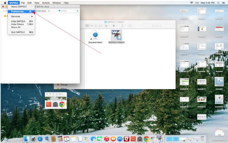 Install SAP GUI 7 40 for Mac | SAP PM Solutions
