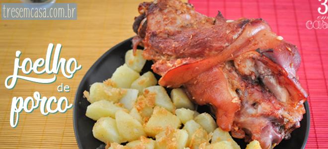 receita de joelho de porco