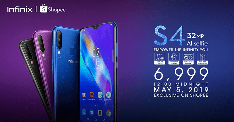 Infinix is back in PH, releases Hot S4 with 6GB RAM for PHP 6,999!