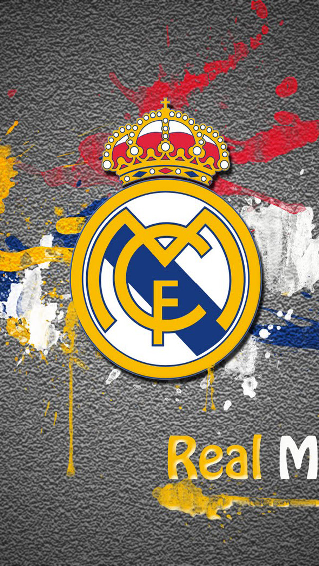 Real Madrid Logo Wallpaper For IPhone