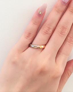 FURRERJACOT フラージャコー 結婚指輪 鍛造 マリッジリング ゴールド プラチナ ピンクゴールド ダイヤモンド 結婚 コンビ コンビネーション 丈夫