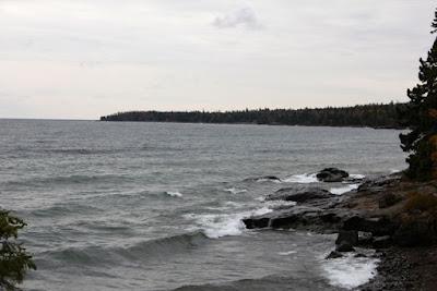Minnesota shore of Lake Superior