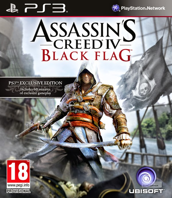 Assassin's Creed IV: BLACK FLAG (USA) PS3 ISO