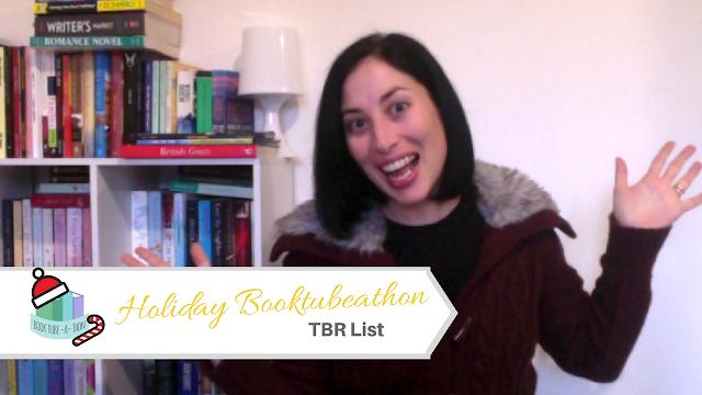 It's Holiday BookTubeAThon time! #HolidayBookTubeAThon #TBR