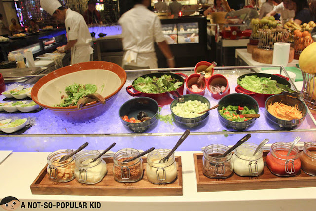 Salad Section of The Cafe Buffet, City of Dreams