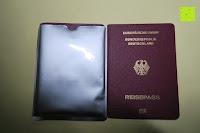 zu kurz für Reisepass: eBoot RFID Schutzhülle für Reisepass und Kreditkarte, 12 Stück