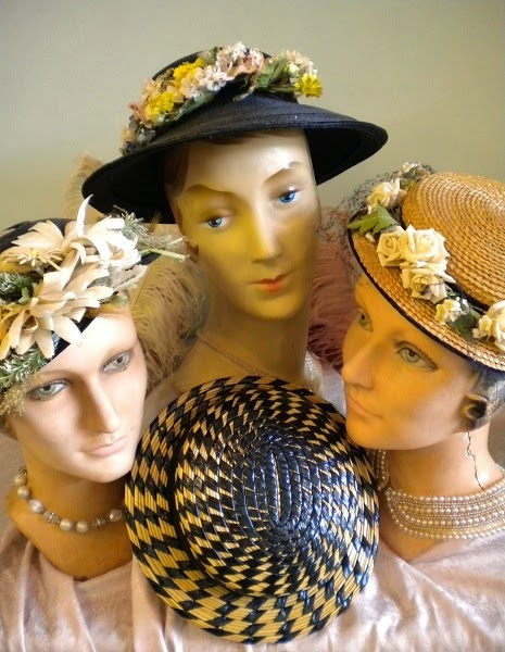 cc473f5b0 Gin'Gilli's Vintage Home: Fancy Vintage Hat Collecting!!!