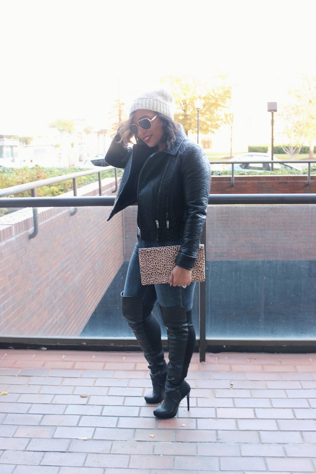 moto jacket, all black look, otk boots, black boots, edgy look, black jacket, faux leather