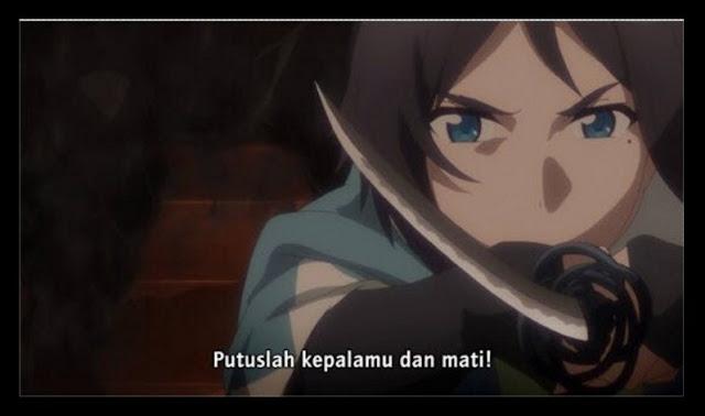 TOUKEN RANBU: HANAMARU EPISODE 1 SUBTITLE INDONESIA