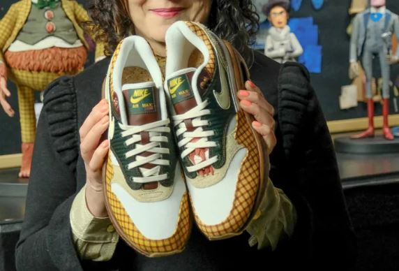 new styles 6eca5 48d61 The new Missing Link x Nike Air Max Susan Sneaker is Available at 4 12 HERE  at Nike. Inspired by the new comedy adventure, Missing Link, from LAIKA, ...
