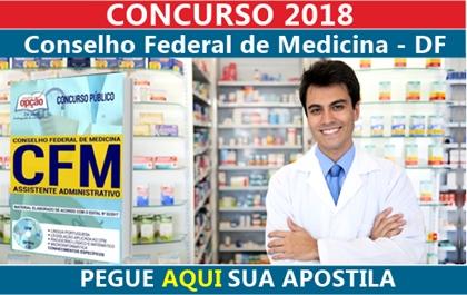 Concurso CFM-DF 2018