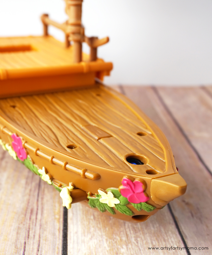 Disney Moana Starlight Canoe and Friends set from Hasbro #PlayLikeHasbro