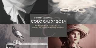 Introducing the 2014 Colormix collections by Sherwin Williams