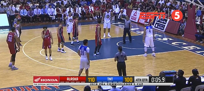 Alaska def. TNT, 110-100 (REPLAY VIDEO) May 13