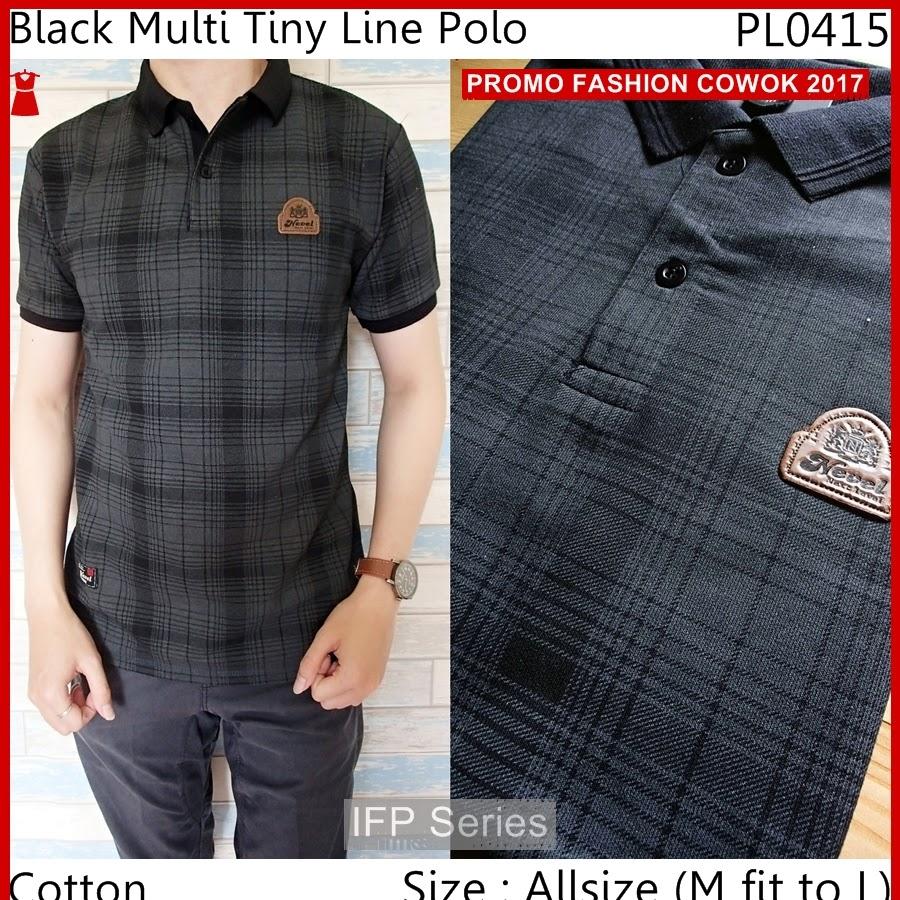BIMFGP011 Tiny Kaos Polo Fashion Pria PROMO