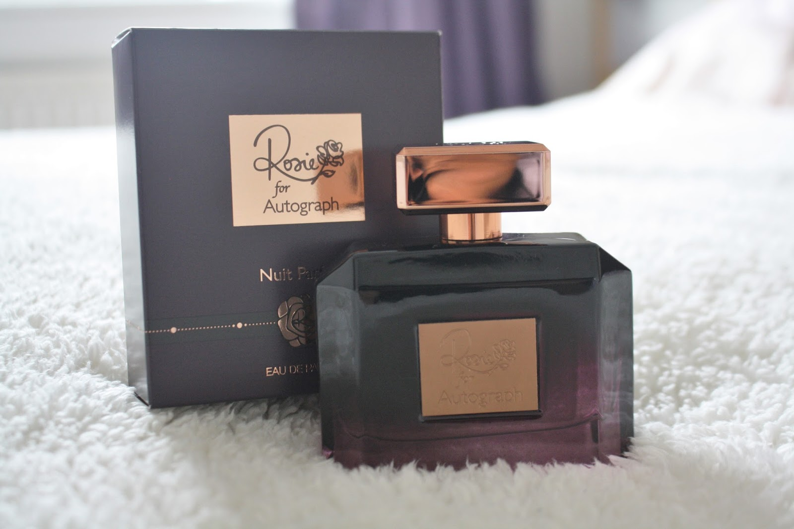 rosie for autograph nuit parfum review, perfume review, rosie huntington whiteley perfume review, m&s perfume products