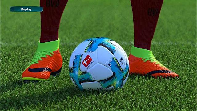 Bundesliga Ball 2018 PES 2017