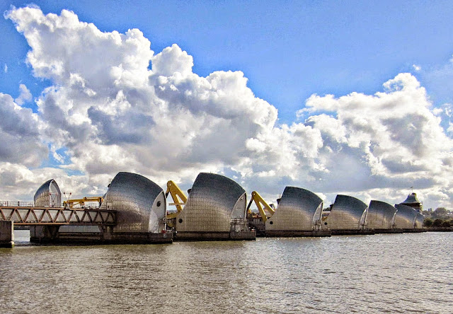 River Thames and Barrier