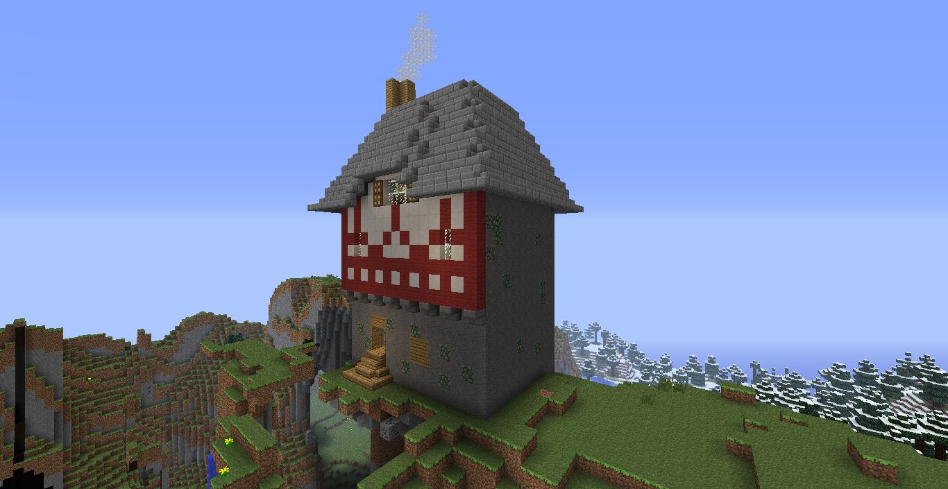 Minecraft Architecte: Maison à colombage
