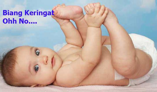 Biang Keringat Yang Terjadi Pada Anak dan Bayi