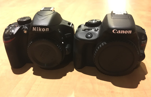 DSLR Nikon and Canon