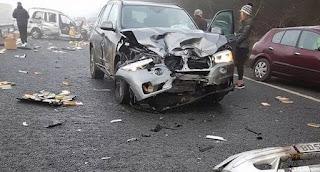 Kecelakaan Beruntun di Inggris Libatkan 20 Kendaraan