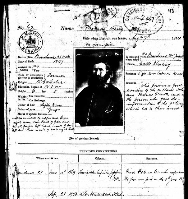 Tobin Family History: Stephen Tobin- Ch:8- Bushrangers in