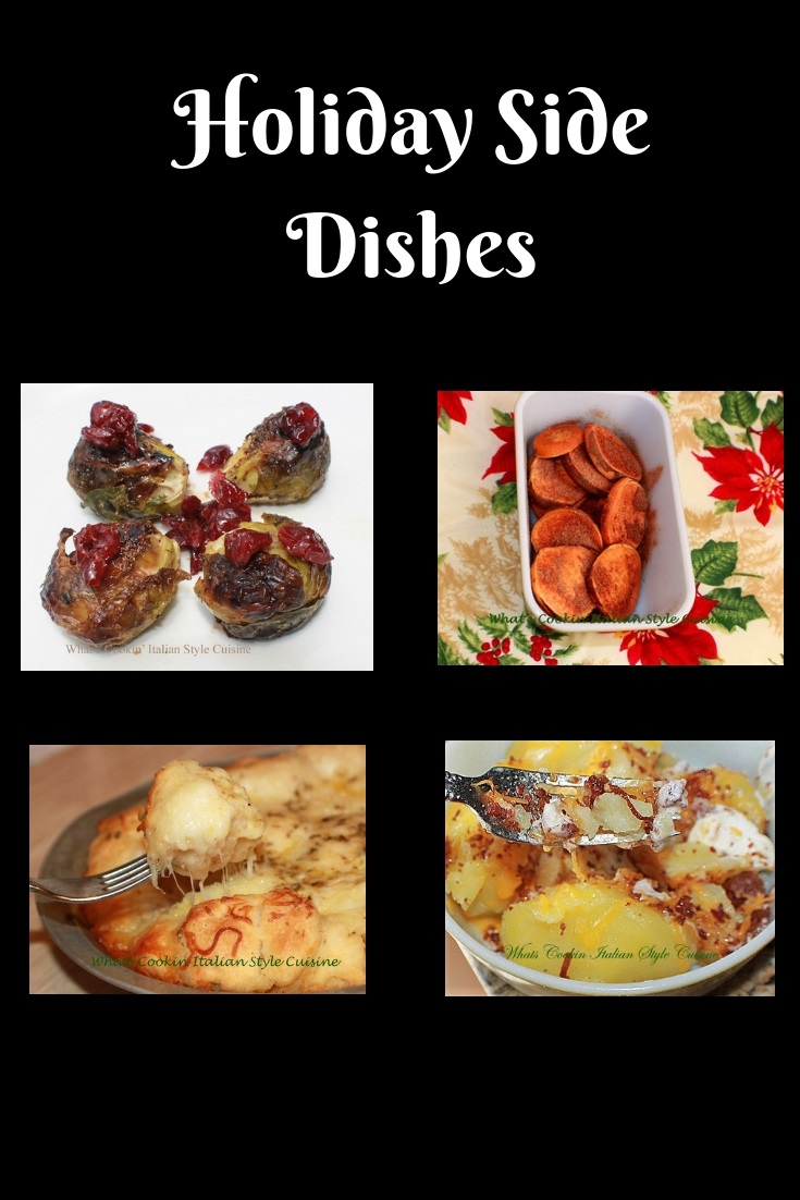 this is a roundup of Holiday side dishes