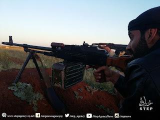 mujahidin suriah di selatan hama