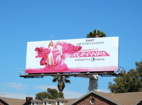 Project Runway Emmy our favorite accessory billboard