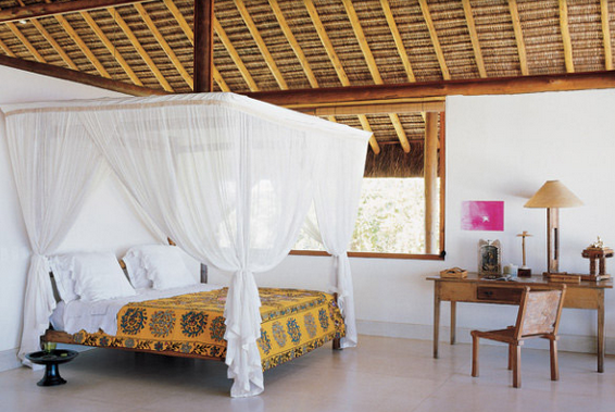 Dreamy and Romantic Full Draped Canopy Beds 10