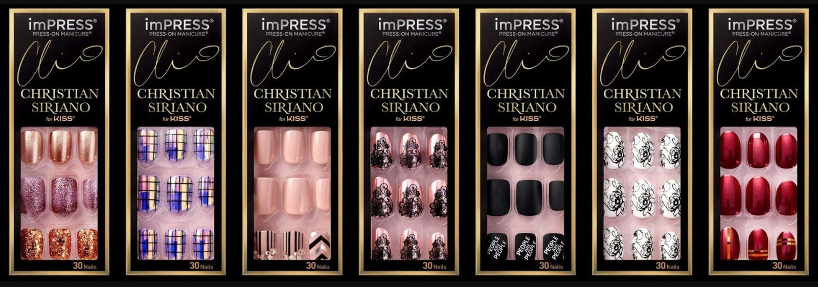 imPRESS Christian Siriano by Kiss Press-On Manicure Collection ...