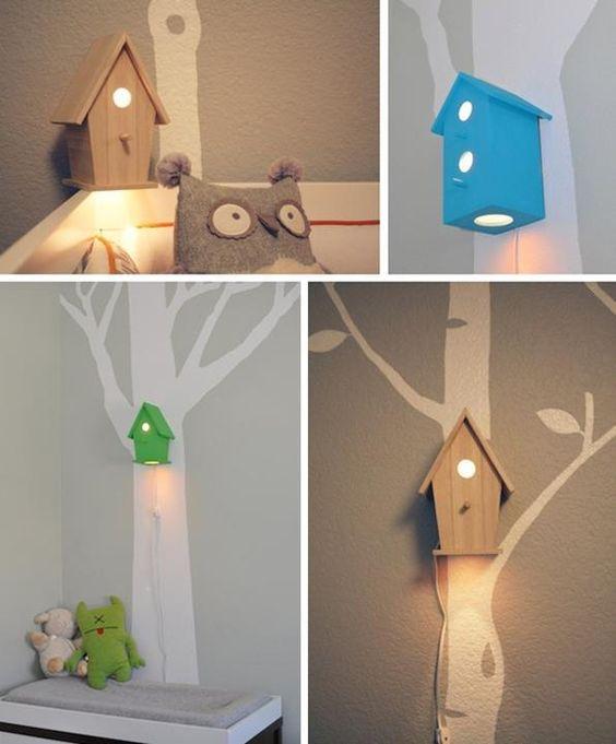 luminária casinha no blog Achados de Decoração