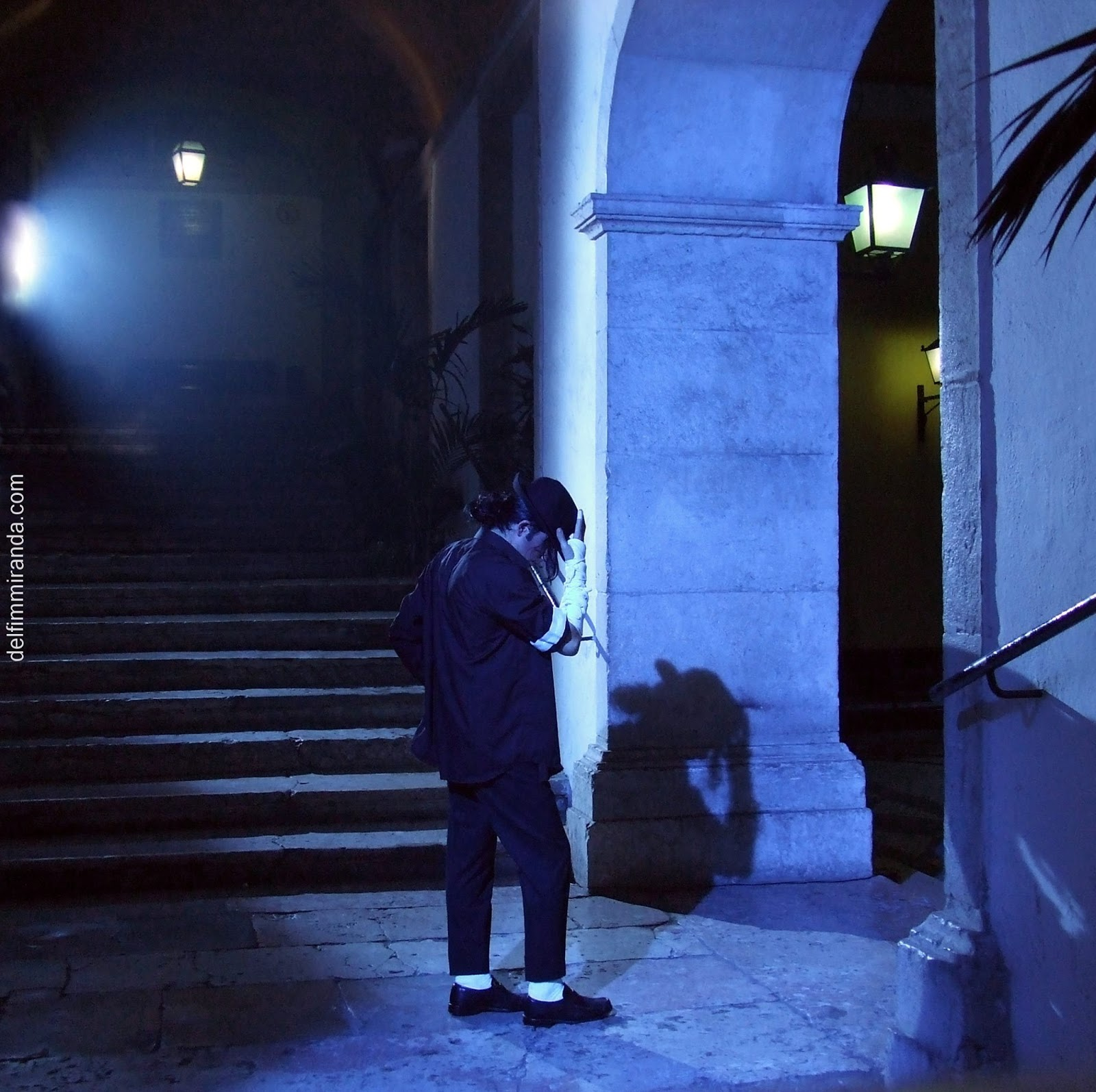 Delfim Miranda - Michael Jackson Tribute - Set for TV commercial - Imagens de Marca