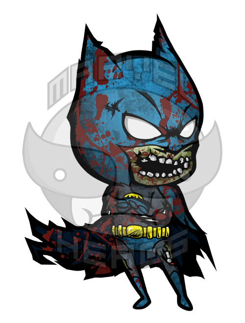 Marvel Heads: BATMAN ZOMBIE - BATMAN (DC COMICS)