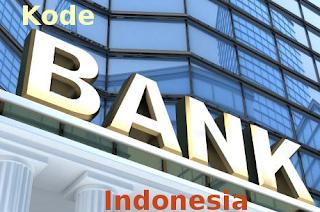 kode bank di indonesia BCA, Mandiri, BRI, BNI,