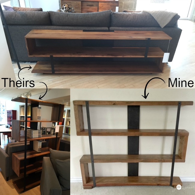 crate and barrel modern bookshelf inspiration