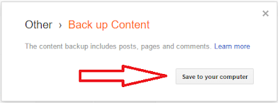 How To Make A Complete Backup Of Your Blogger Blog-2?