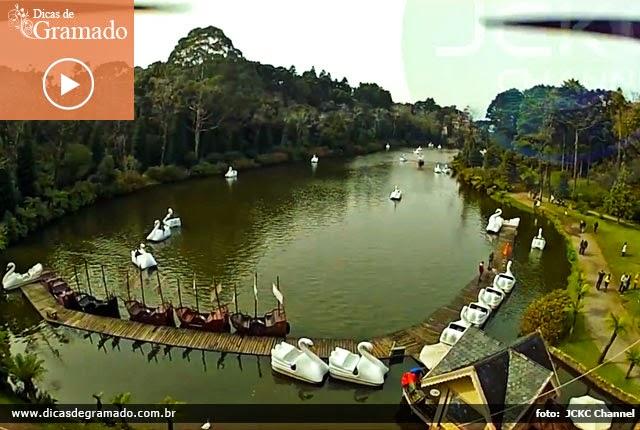 Vídeo: Passeio aéreo no Lago Negro