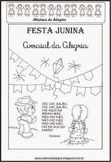 Atividades sobre festa junina