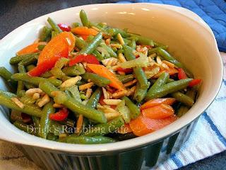 Healthy Carrot N Green Bean Recipe Drick S Rambling Cafe