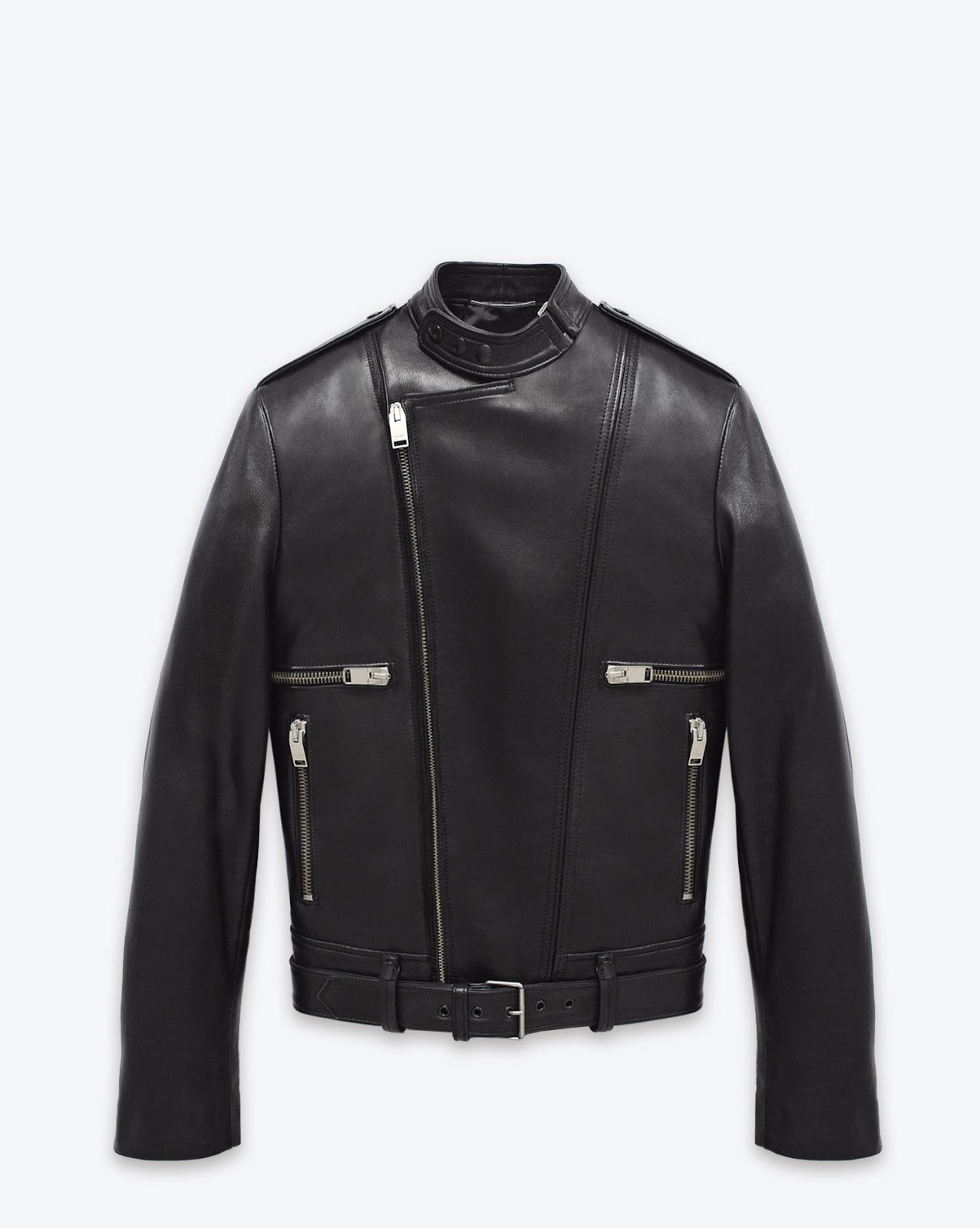 Ysl leather jacket