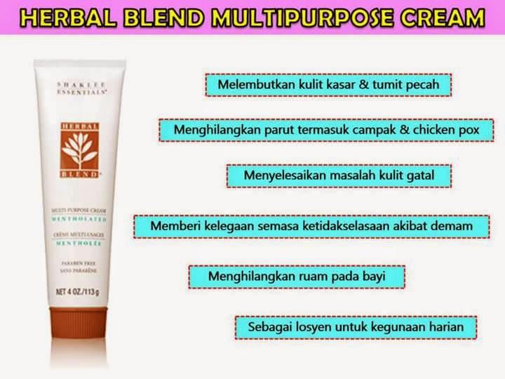 Lotion Herbal Blend bantu pudarkan dan hilangkan parut kudis