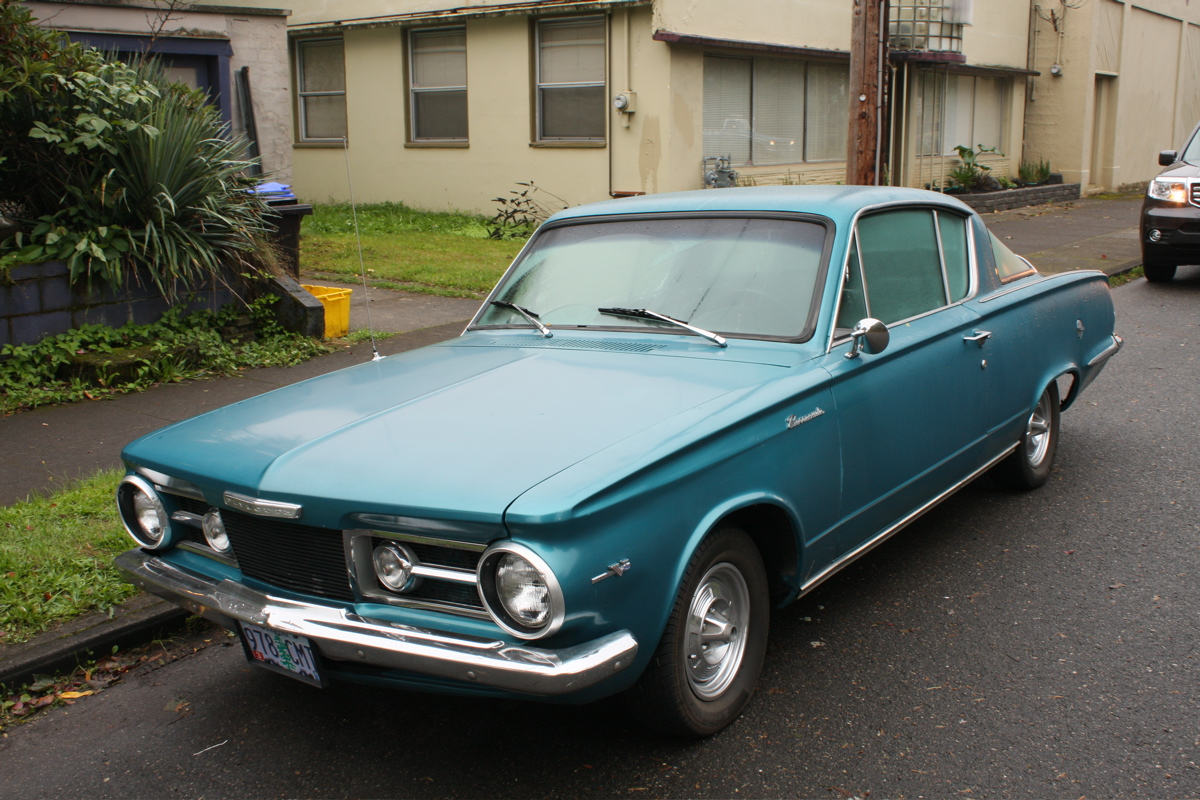 OLD PARKED CARS : 1964 Plymouth Barracuda