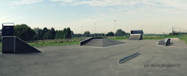 Skate park Solesmes